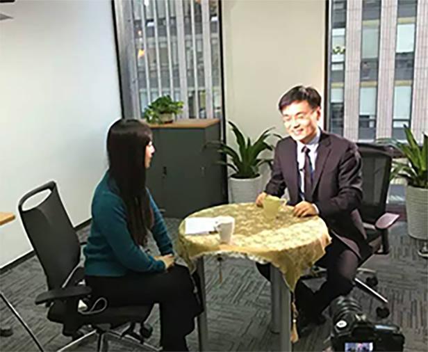 《创业天下》杂志访谈,新华社 电视/网络报道对幼发拉底